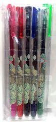 My Neighbor Totoro Gel Ink Ballpoint Pen 5 Colors Set - Stamp Pattern Design
