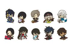 es Series nino Rubber Strap Collection - Touken Ranbu Online Kutsurogi ver. (Random 1 pc)