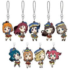 Love Live! Sunshine!! - Rubber Strap (Random 1 pc)