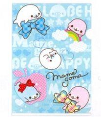 San-X I Heart Mamegoma A4 Plastic File Folder (FY-78703)