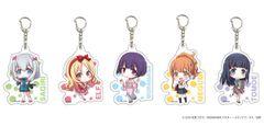 "Acrylic Keychain ""Eromanga Sensei"" 01 (Random 1 pc)"