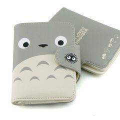 My Neighbor Totoro Face Short Wallet