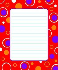 Red Fizz Note pads (Pack of 2)