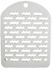 Sanader Multifunctional Plate Bread Crumbs and Cake Powder and Rice - White (Pack of 2)