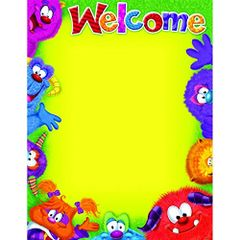Trend Enterprises Welcome-Blank (Furry Friends®) Learning Chart