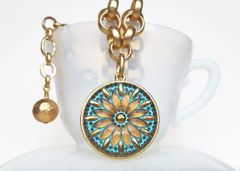 GOLDA - Czech Glass Necklace