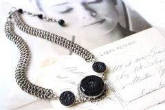 AUDREY - Chain Maille Choker Necklace