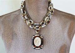 Art Deco DUO - 2 piece Art Deco Necklace