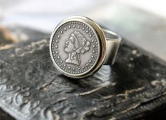 NOR - Vintage Coin Replica Ring