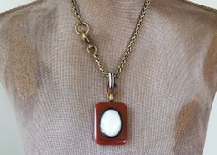 JAYE - Chunky Carnelian Necklace