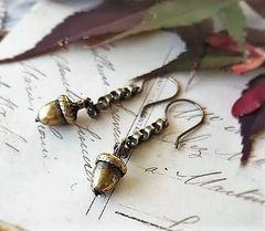 ACORN - Acorn Drop Earrings