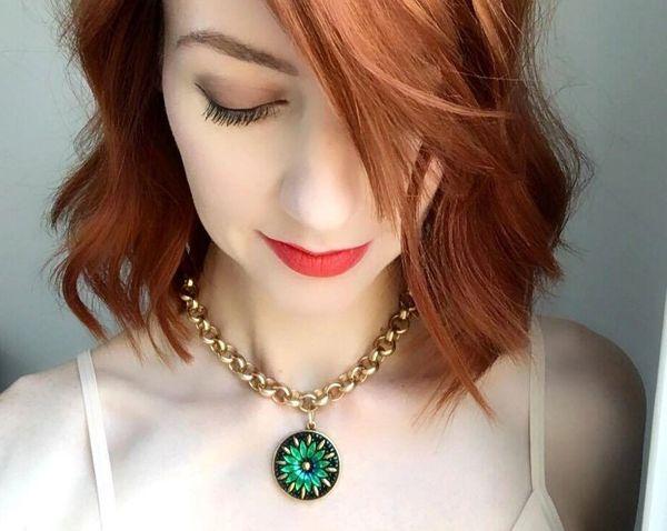Emerald - Czech Glass Necklace