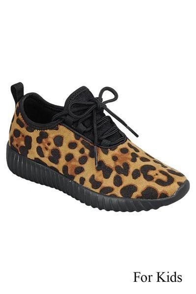 Kids Leopard Tennis Shoes  64dc8ce62a
