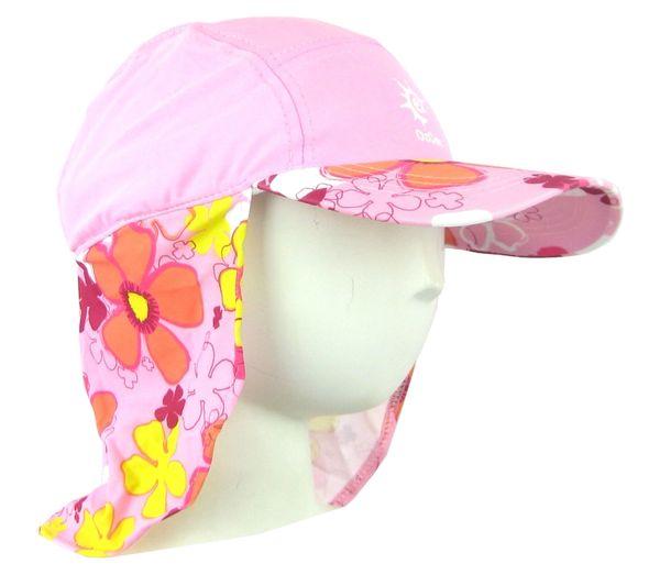 74cdedb7 Baby Girls Ozcoz UV UPF 50+ Sun Protection Swim Hat Legionnaire Pink 1 to 2  Years | Ozcoz swimwear uv sun suits muslim sun protection cover upf 50+