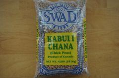 Kabuli Chana (Chick Peas), Swad, 4 Lbs