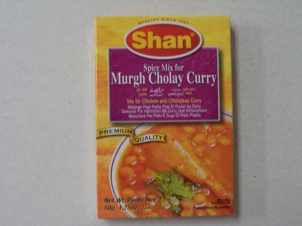 Murgh Cholay Curry Shan 50 g