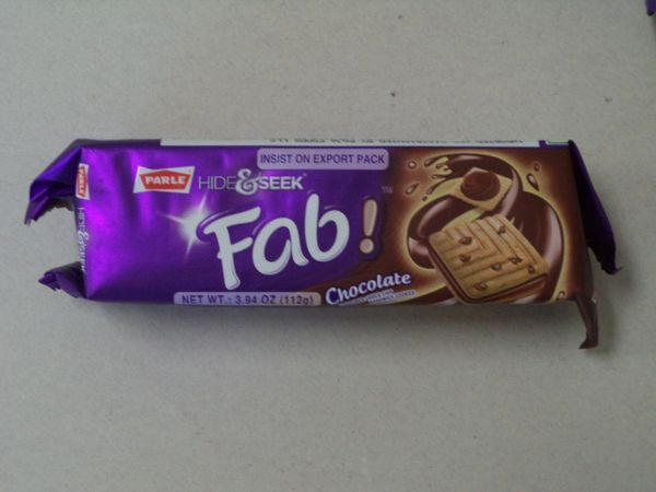 Hide & Seek Fab Chocolate Cookies Parle 112 g