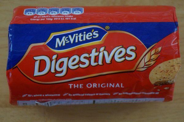 Digestives (Original), McVitie's, 250 G