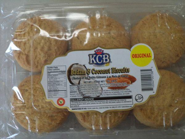 Badam & Coconut Biscuits KCB 200 g