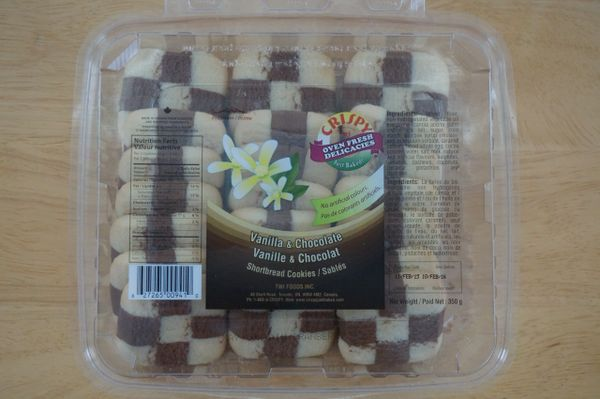 Shortbread Cookies (Vanilla & Chocolate), TWI, 350 G