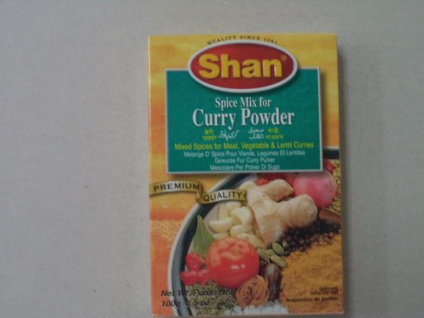 Curry Powder Shan 100 g