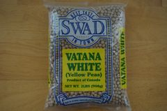 Vatana White (Yellow Peas, Swad, 2 lbs)