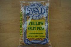 Yellow Split Peas, Swad, 4 Lb