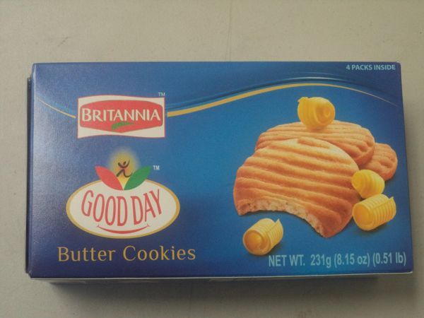 Good Day Butter Cookies, Britannia, 231 G
