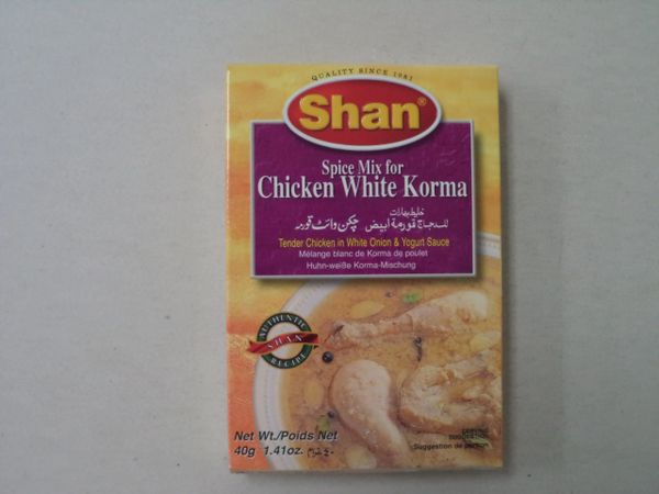Chicken White Korma Shan 40 g