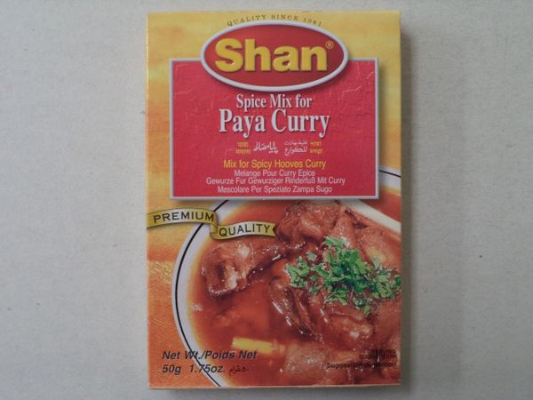 Paya Curry Shan 50 g