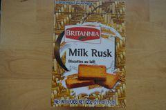 Milk Rusk (2 Pack), Britannia, 620 G
