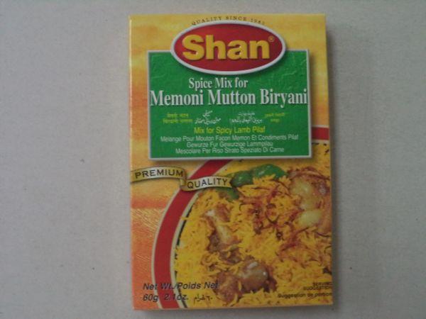 Memoni Mutton Biryani Shan 60 g