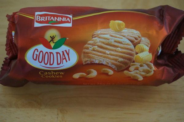 Good Day Cashew Cookies, Britannia, 75 G