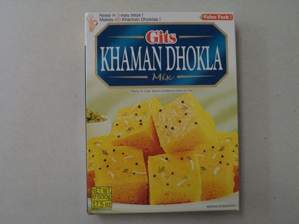 Khaman Dhokla Mix Gits 500 g