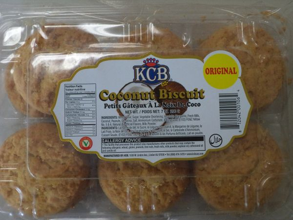 Coconut Biscuits KCB 200 g