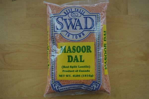 Masoor Dal (Red Split Lentils)Swad, 4 Lbs