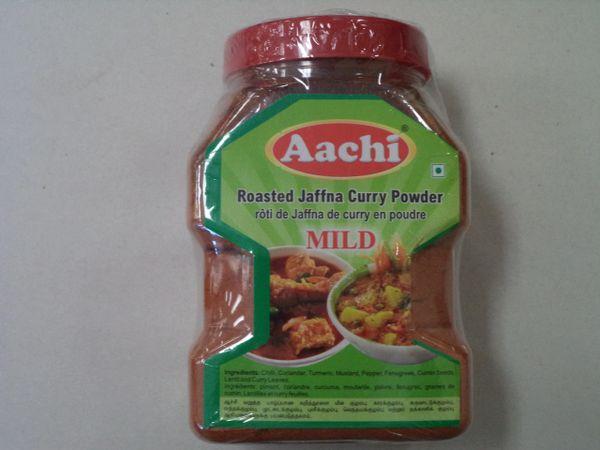 Roasted Jaffna Curry Powder Mild AACHI 500g