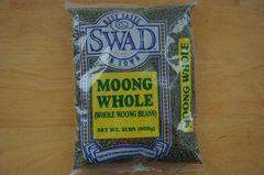 Moong Whole (Whole Moong Beans), Swad, 2 Lbs