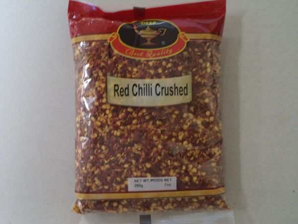 Red Chilli Crushed Deep 200 g