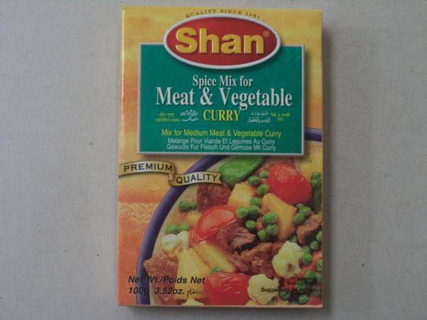 Meat & Vegetable Shan 100 g