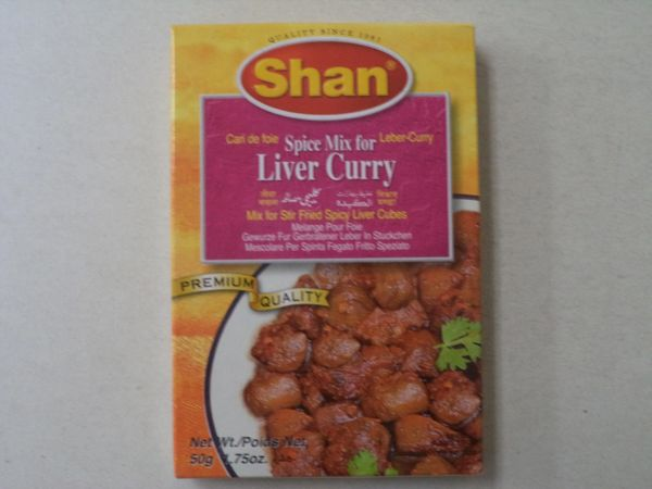 Liver Curry Shan 50 g