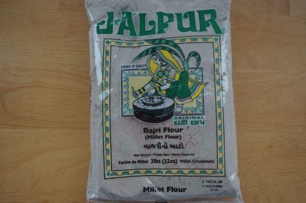 Bajri Flour (Millet Flour), Jalpur, 2.2 Lbs