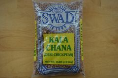 Kala Chana (Desi Chickpeas), Swad, 4 Lbs