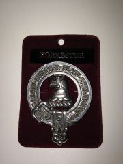 Clan Crest Cap Badge Mac
