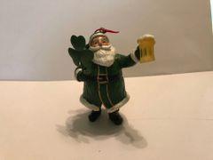 Irish Santa Toasting Ornament
