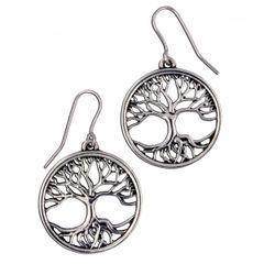 Tree of Life Earrings - small