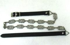 Celtic Sporran Chain Belt - Antiqued