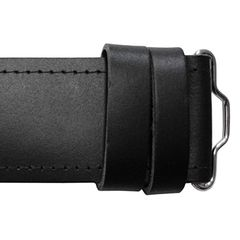 GM Plain Leather Kilt Belt