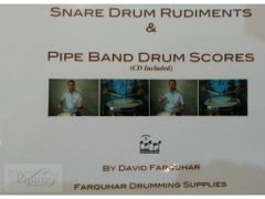 Snare Drum Rudiments Book & CD