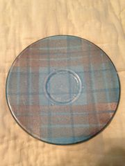 Tain Pottery - Plaid Saucer